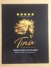 More details for tina the tina turner musical original magazine advert / poster (d)