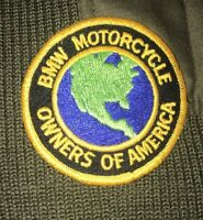 BMW Motorcycle Owners Of America German Army Sweater Size EU 50 US M/L