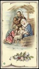 """santino-holy card""""""""ediz. NB serie P  n.2581 NATIVITA'"""