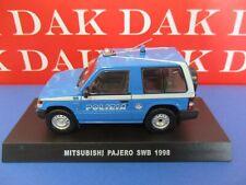Die cast 1/43 Modellino Auto Polizia Police Mitsubishi Pajero SWB 1998