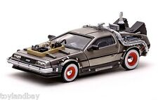 Vitesse 24013 Back To The Future Part III DeLorean 1:43 Scale Stainless Steel