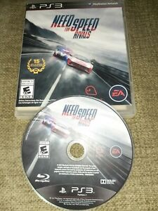 Need for Speed: Rivals (Sony PlayStation 3, 2013) *BUY 2 GET 1 FREE +FREE SHIP*