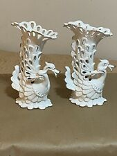 New listing Chinese Export Swan Geese Porcelain Decorative Vases