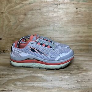 Altra Olympus 1.5 Running Shoes Womens Size 10 Gray Red Athletic A2555-2