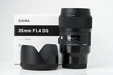 Sigma 35mm f/1.4 DG HSM ART Lens for Sony FE E-mount Cameras A7iii A73 A7Riii