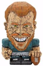 "NFL EEKEEZ 4"" FIGURE OF ""CARSON WENTZ"" HANDCRAFTED FOR WOOD EFFECT MADE OF RESIN"