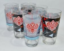 "SMIRNOFF VODKA 6 Verres tumbler 35 cl  ""London + Sidney""  + housse MP3 NEUF"