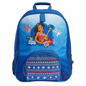 NWT Disney Store Elena of Avalor Backpack girls Book bag Princess Blue