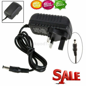 DC 9V 2A AC Power Supply Transformer Adapter UK Plug Converter Wall Charger