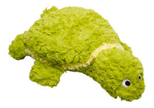 """Gor Pets Patchwork Tortoise Crinkly Squeaker Grunter Puppy Dog Play Toy 8"""" 15"""""""