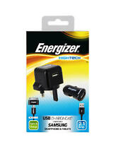 Energizer Samsung Charging Kit micro USB home/car cable with Samsung Tab adaptor