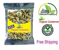 Quality Organic  Cardamom Pods 50g -  Products from Sri Lanka FREE Shipping