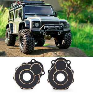 Fit 1/10RC TRX4 Steering Knuckle Portal Cover Front/Rear Hub Outer Housing Cover
