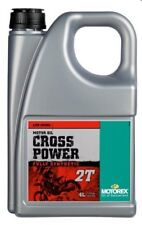 HUILE MOTOREX 2 TEMPS CROSS POWER 4 LITRES SYNTHESE MOTO CROSS ENDURO