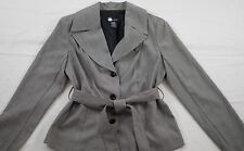 NWT! WOMENS BLACK MICRO-CHECK JACKET SIZE 8 STRETCH