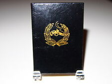"""1962 """"Death of Lincoln """" (Whitman) printed by Black Cat Press miniature books"""