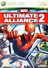 Marvel: Ultimate Alliance 2 (Microsoft Xbox 360, 2009)