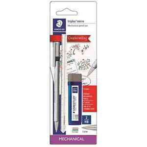 3ct Mechanical Pencils Triplus Writing Set #2 Lead 0.7mm - Staedtler