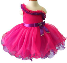 Infant/toddler/kids/baby/Girl's Pageant/prom/formal Dress size1-size7  EB1179A