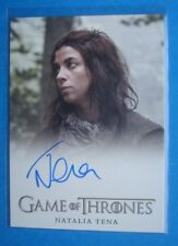 2014 **GAME Of THRONES** Season 3 Auto/AutoGraph Card *Natalia TENA as OSHA