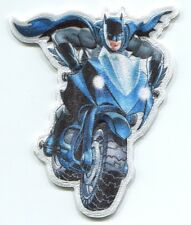 BATMAN bat bike EMBROIDERED IRON-ON PATCH *FREE SHIP* cpdc72 dc comic motorcycle