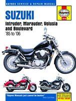 Suzuki Intruder Marauder Volusia Boulevard Manual 85-04 Owners Shop Book Service