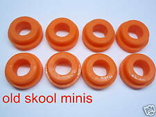 CLASSIC MINI POLYFLEX EARLY REAR SUBFRAME BUSH KIT ORANGE UPRATED 59-76 2CA2