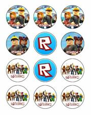 Roblox 12 Edible Icing Image Birthday Cupcake Topper Cake Decoration #1