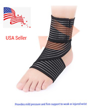 Ankle Support Compression Plantar Fasciitis Sleeves Arch Foot Wrap Brace (#7669)