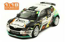 IXO 18RMC031 SKODA FABIA R5 rally car C de Cecco & J Humblet Condroz 2018 1:18th