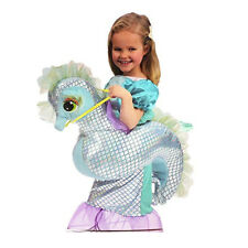 Seahorse Mermaid Girls Party Dress up Costume Age 3-7 Fitting 104 Cm