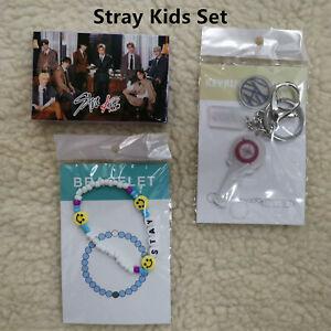 Kpop Stray Kids STAY Felix Fan Goods Set Lomo Card Photocard Bracelet Key Chain