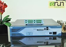 CISCO Terminal Access Server 2821 IOS 15.1,  NM-32A  CCENT CCNP CCIE  ADD ON LAB
