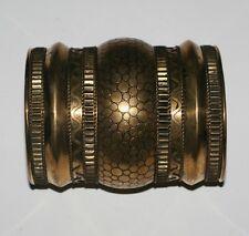 Womens Wristcuff Vambrace One Size New Ethnic Tribal Antiqued Brass Gold Metal