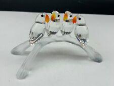 Swarovski Figurine 199123 Lovebirds 10,5 Cm. Top Top