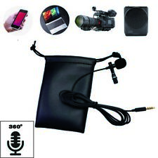 Mini Portable Clip Lapel microphone For Android phone and Recording Video #3