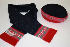 Mini Boden Girl's Scarf & Hat 7-10 Years