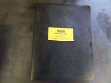 Rosco RA200 Asphalt Patcher Operation Maintenance Parts Manual