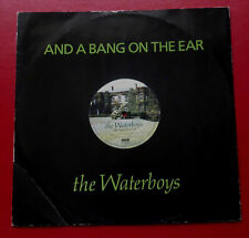 """THE WATERBOYS - And A Bang On The Ear (1989 12"""" in die-cut sleeve) Mike Scott"""