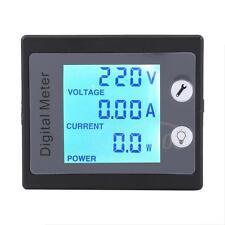 Digital Backlight Voltage Current Power Energy Meter Tester Monitoring AC80-260V