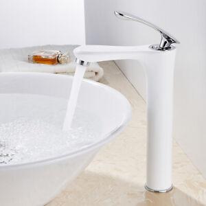 Modern Bathroom Taps Tall Basin Mixer Tap Brass Washroom Lavatory Faucets //