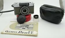 Olympus PEN EE 35mm Half Frame Film Camera + case + manual + very rare hood
