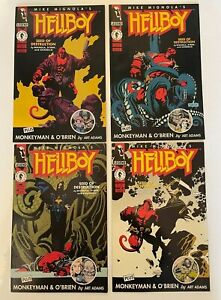 Hellboy Seed of Destruction Limited Series #1-4 First Print 1994