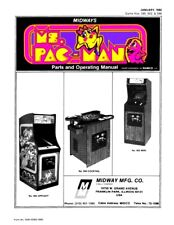 Ms Pac-Man Arcade Operations/Service/Repair Manual/Video Machine Mrs PacMan   VC