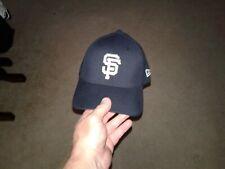 MLB San Francisco SF Giants 39/30 Fitted Hat CAP BLACK NEW ERA Cap M-L NWWOT