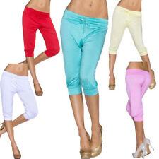 Pantalons corsaires, pantacourts sans marque pour femme