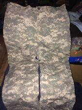 Army Combat Pants Large Regular ACU Digital Camo Paintball Prepper Hunting