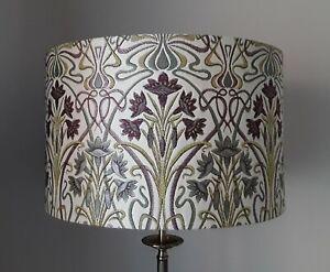TIFFANY ART DECO LAMPSHADES MAUVE VARIOUS SIZES 20 30 40 cm DIAMETER