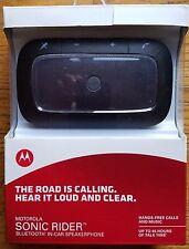 MOTOROLA SONIC RIDER Universal Bluetooth In Car Speakerphone 89589N NEW SEALED