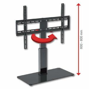 Drehbarer TV Standfuß, Ständer für TVs bis 165cm; Höhe einstellbar; TV Halterung